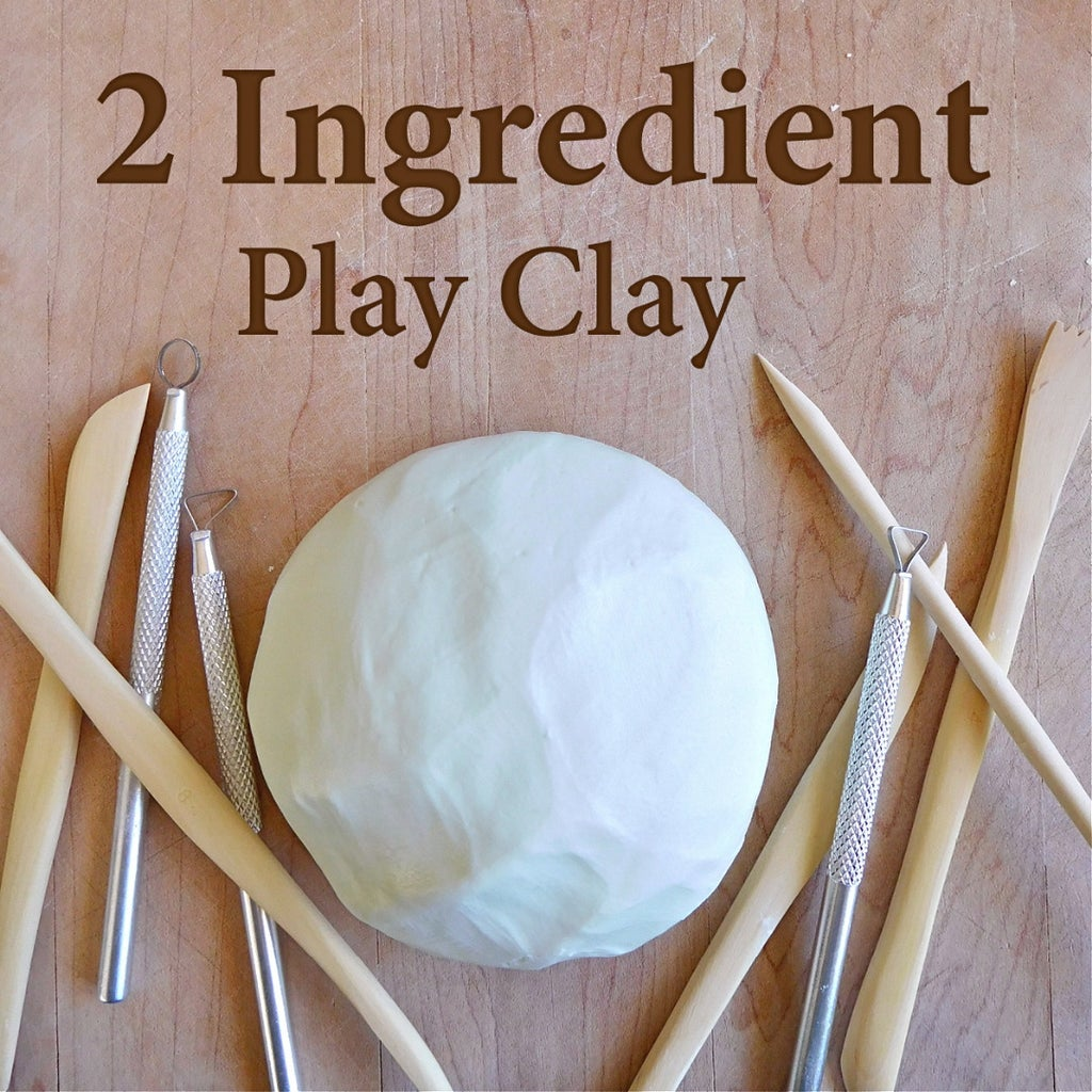 2 Ingredient Play Clay