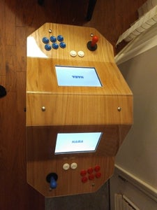 Short Two-Headed Arcade Cabinet