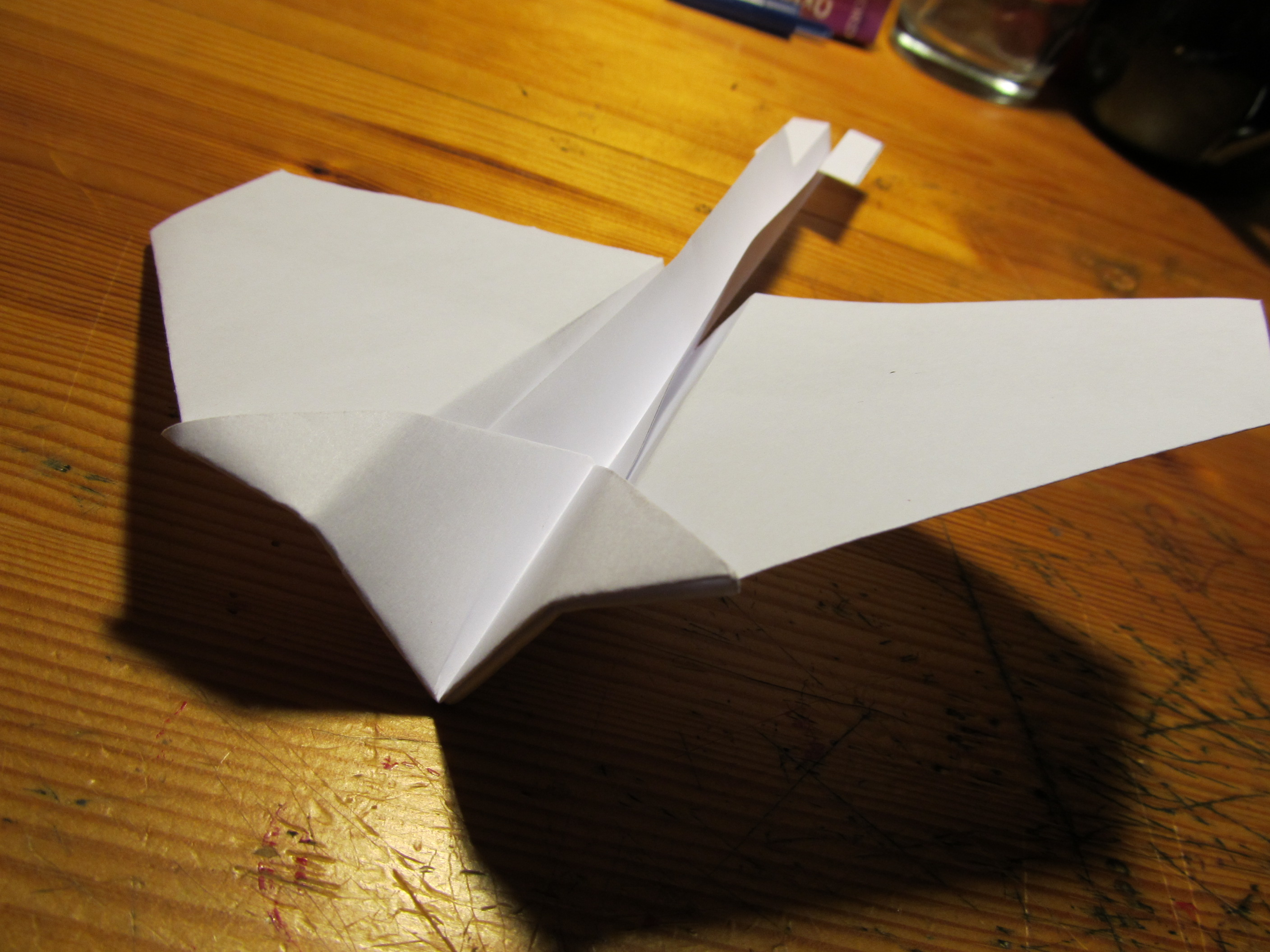 The Omicron, an awesome paper plane!