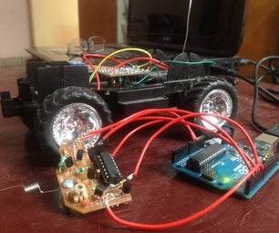 Simple Contrlling RC Car by Arduino