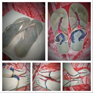 Recycled Old Flip Flop With 3 Uses Style Without Sewing!!!