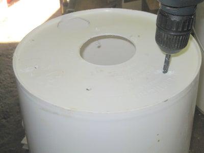 Drilling the Inner Bucket
