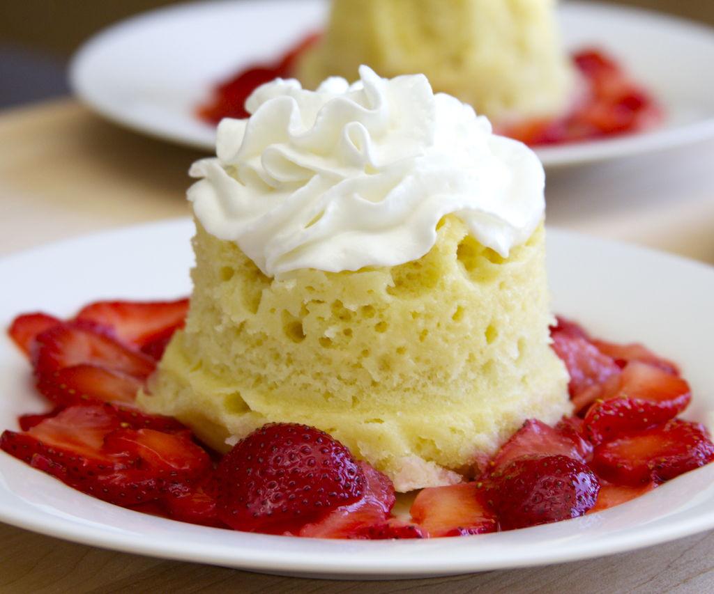 pastel de microondas