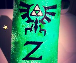 Zelda Spray Art - Small