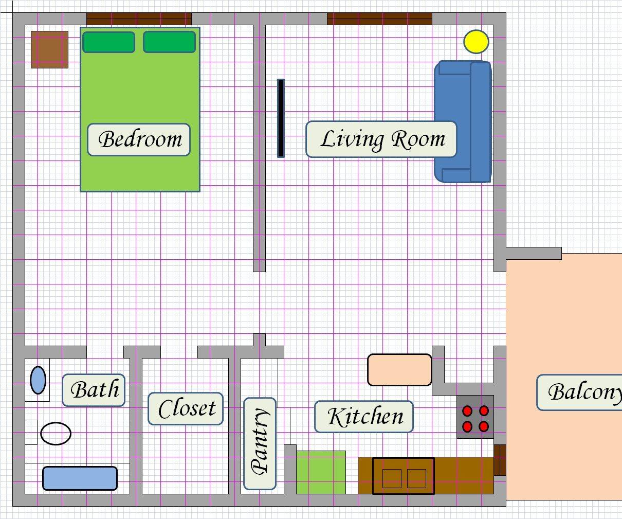 Create Floor Plan Using MS Excel : 5 Steps (with Pictures) - Instructables