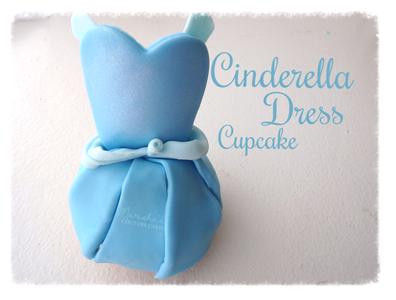 Cinderella Dress Cupcakes
