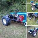 Rebuilding a Copar Panzer Garden Tractor