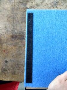 Velcro & Linen Bag
