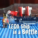 How To Make A LEGO Ship In A Bottle