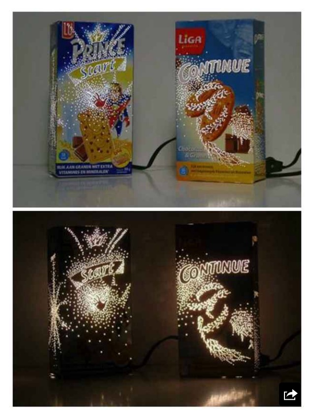 Cereal Box Nightlight
