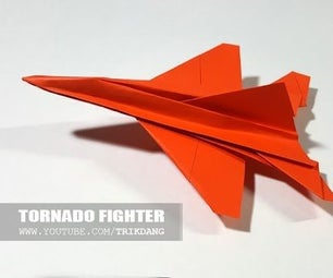 Jet Fighter Paper Planes   Tornado
