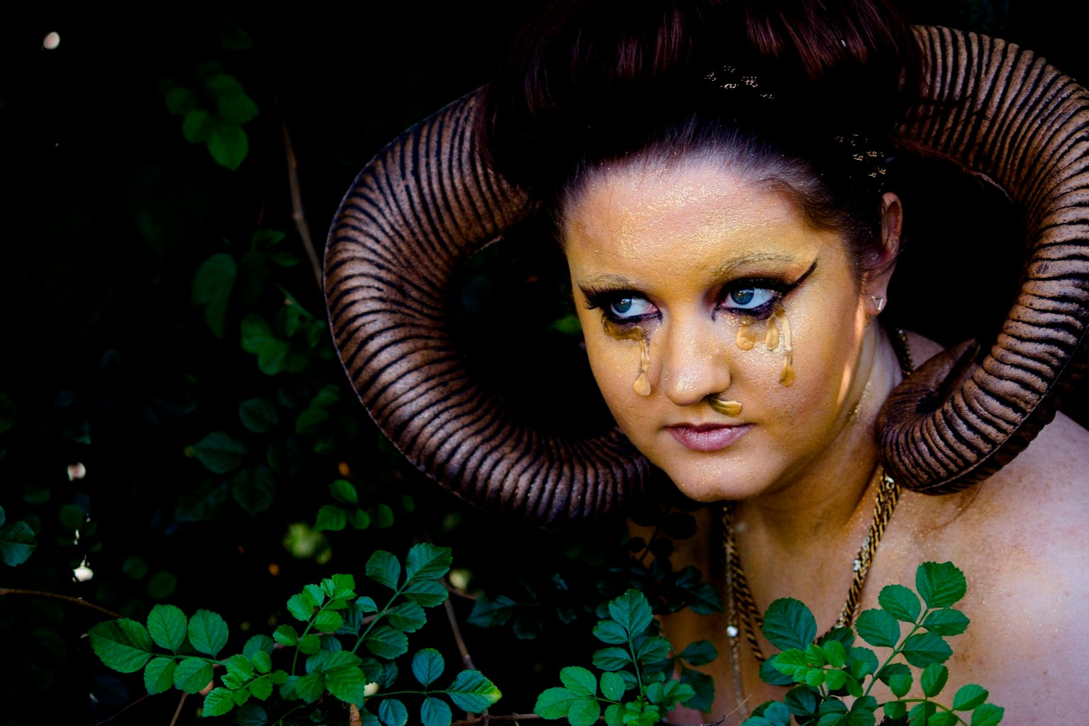 Seven Deadly SIns: Greed Makeup Tutorial
