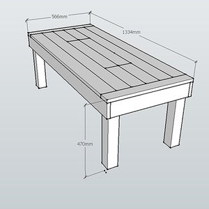 Assemble Table Top
