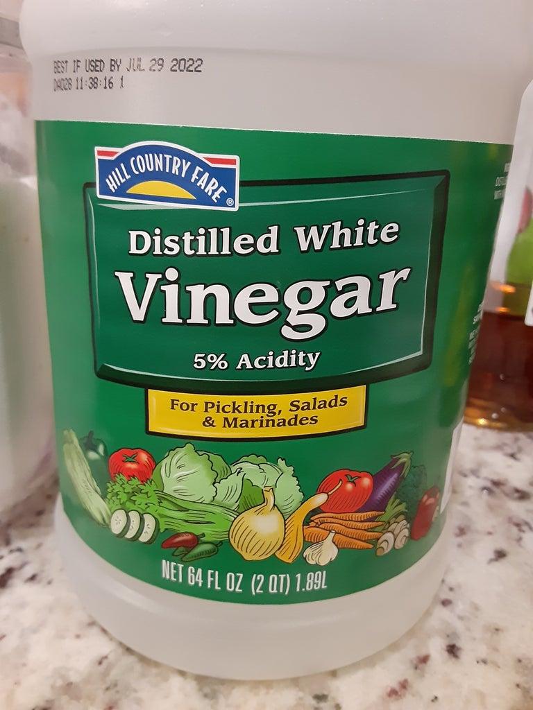 Egg in Vinegar
