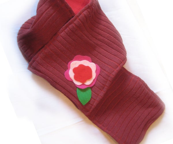 Sew an Upcycled Sweater Scarf
