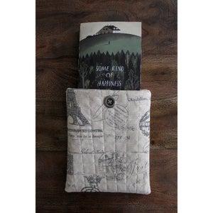 DIY Sewn Book Sleeve