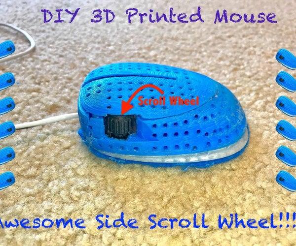 Custom 3D Printed Mouse