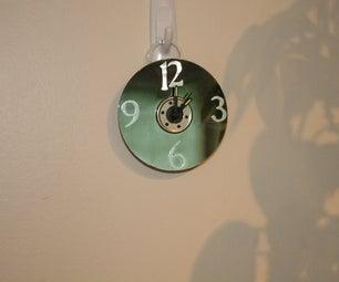 Simple Hard Drive Platter Clock