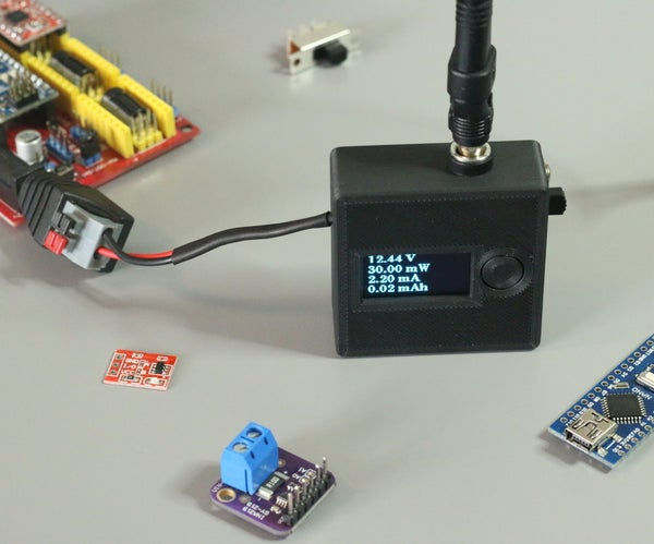Tiny V/A Meter With INA219