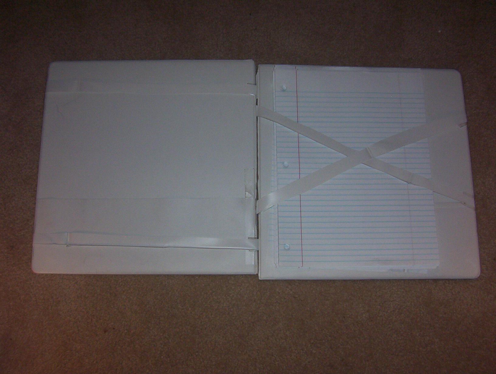 Magic Binder (Supersized magic wallet for paper)