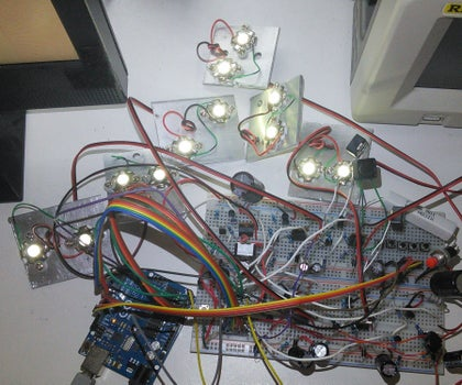 Arduino-based High Powered Switching LED Drivers