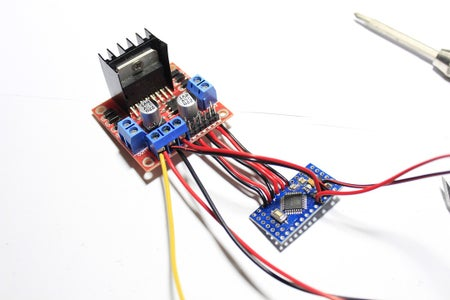 L298N and Arduino