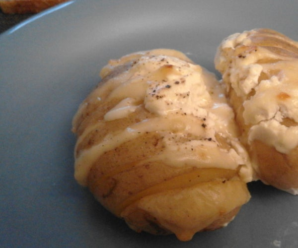 Baked Potatoes With Cheese