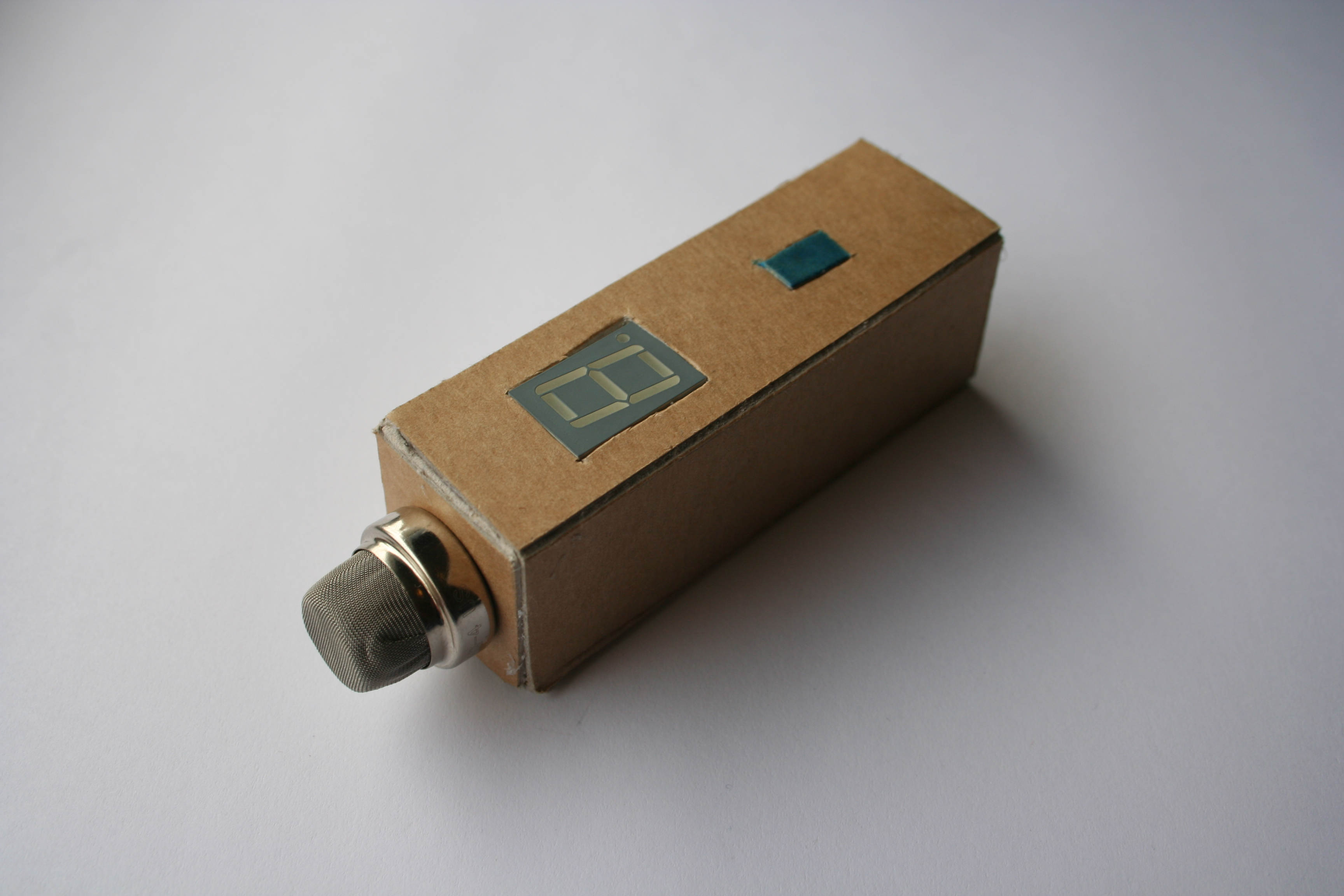 Gas detector / indicator (USB powered) with arduino