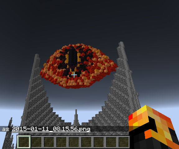Minecraft eye of sauron