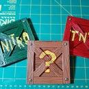 Crash Bandicoot N-Sane Crate Coasters