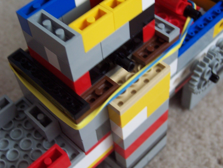 Ammo + Counterweight Rubberbands + Firing Rubberbands