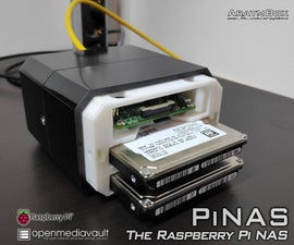 PiNAS - the Raspberry Pi NAS
