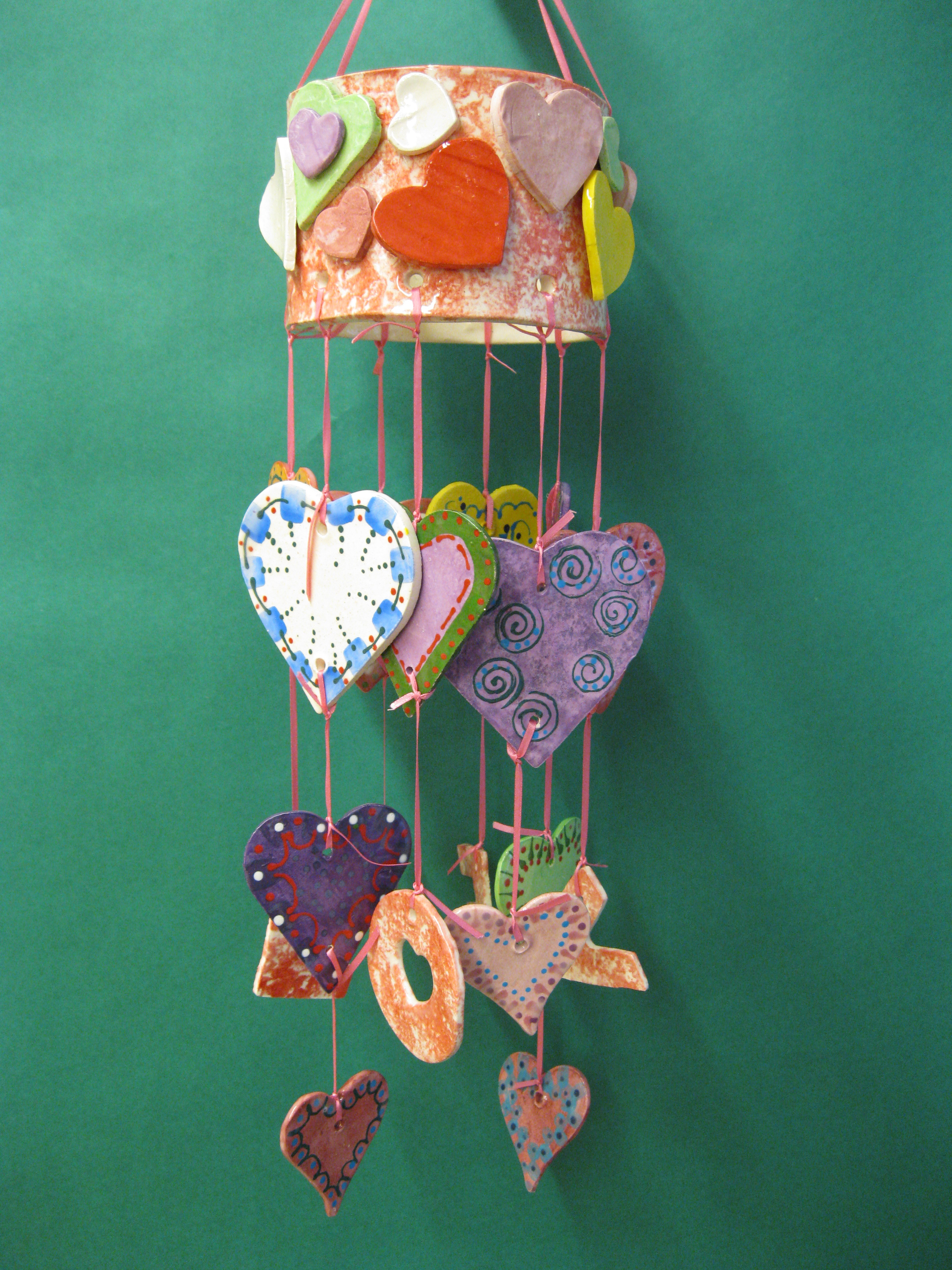 LOVE MOBILE (wind chime)
