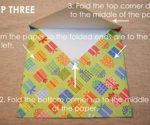 Scrapbook Paper Envelope