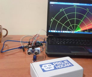 Arduino Ultrasonic Radar Project
