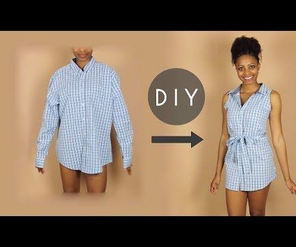 DIY Button Up Sleeveless Dress (Beginners Sewing)