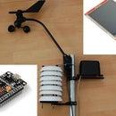 Monitor de estación meteorológica personal de bricolaje