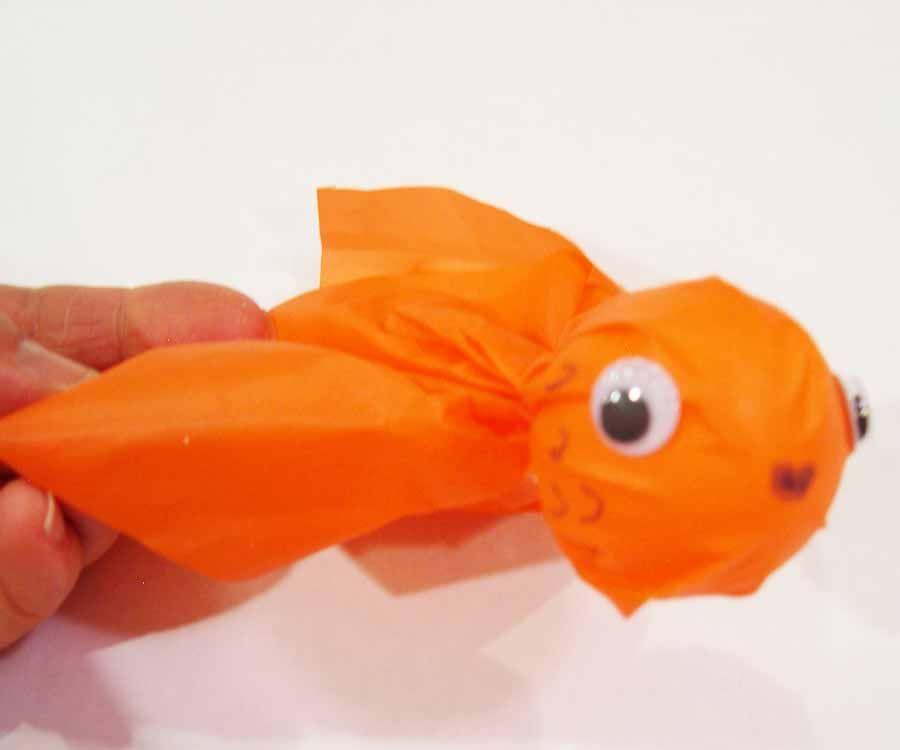 Ping Pong Ball Goldfish