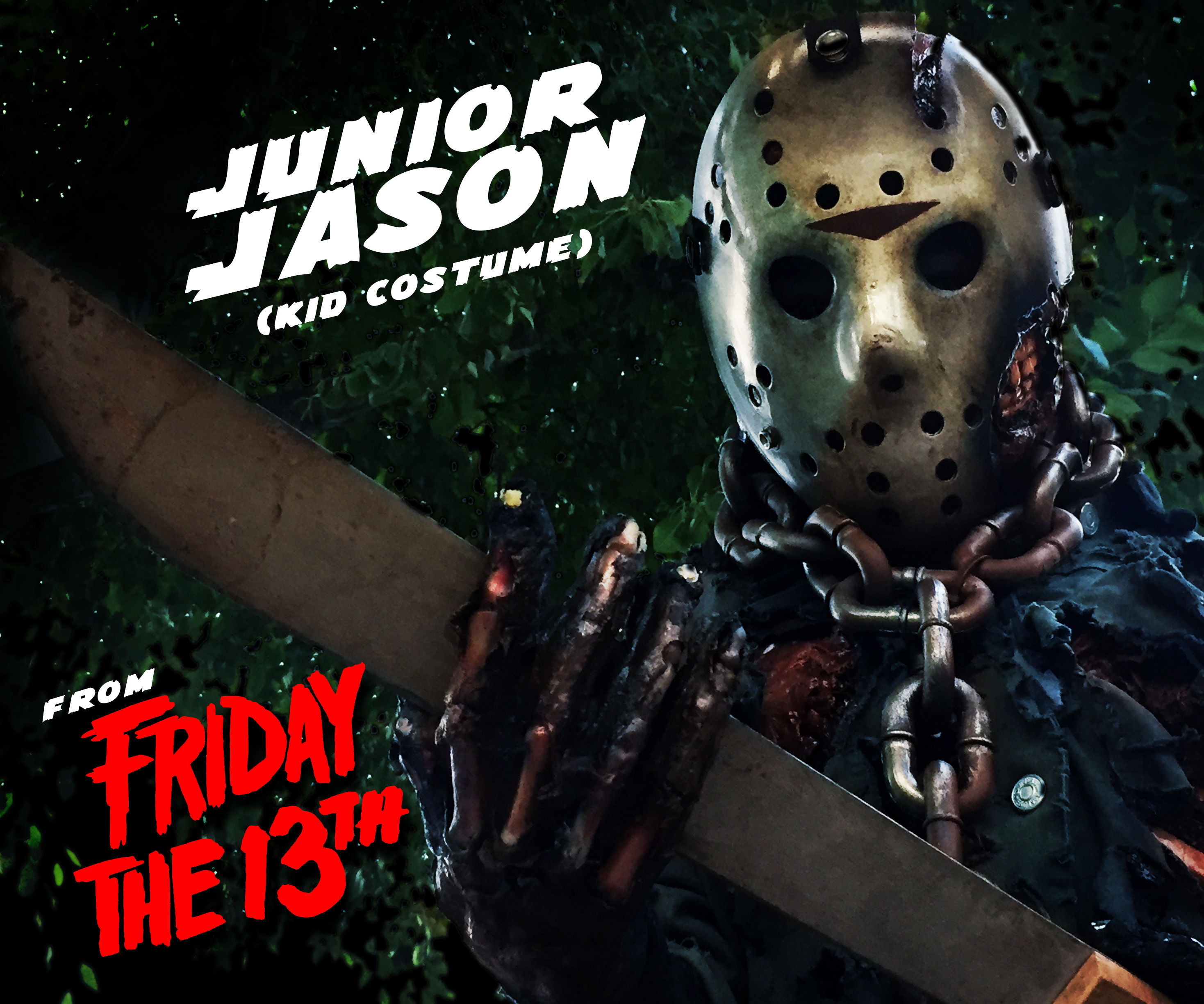 Junior Jason from Friday The 13th!