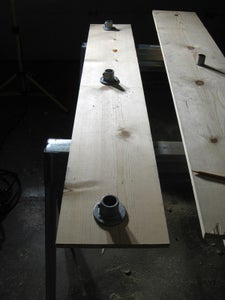 Drill Holes in Shelves