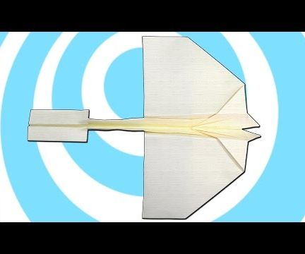 Paper Swallow Airplane that Fly for Kids