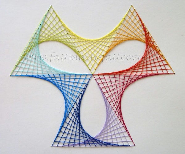 Rainbow Stitching (paper Embroidery)