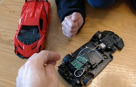 Electronics Mechanism - the Remote Control Receiver