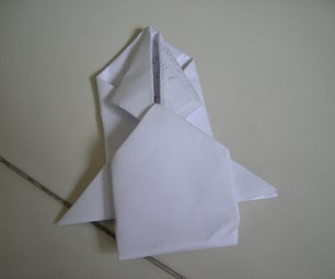 How to Make an Origami Spaceship