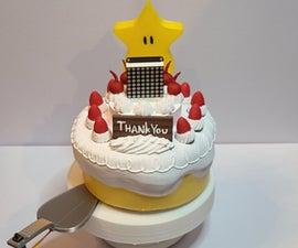 Mario 64 Cake Timing Light Game