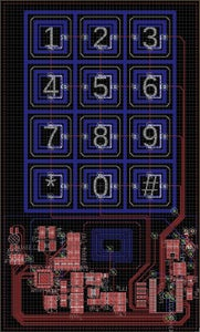 NFC Lock - When a PCB Is Also the Buttons, the Antenna and More...