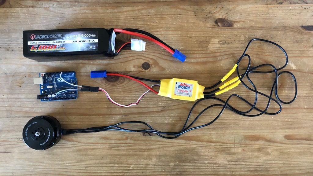 ESC Programming on Arduino (Hobbyking ESC) : 4 Steps - Instructables | Mystery Esc Wiring Diagram |  | Instructables