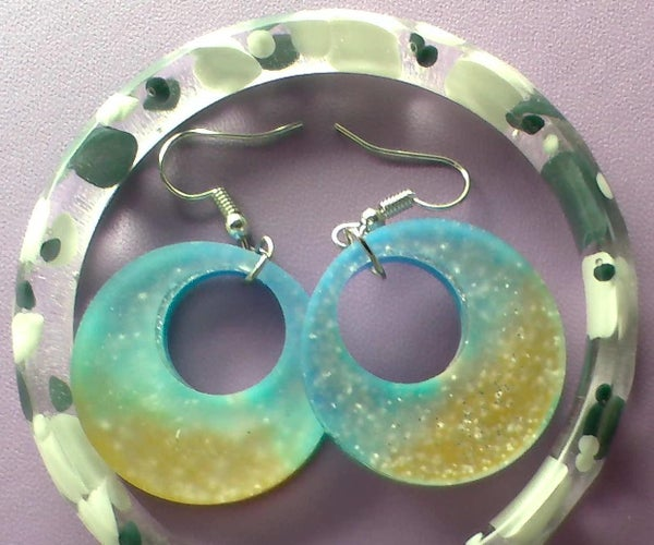 How to Make Epoxy Earrings and Bracelet