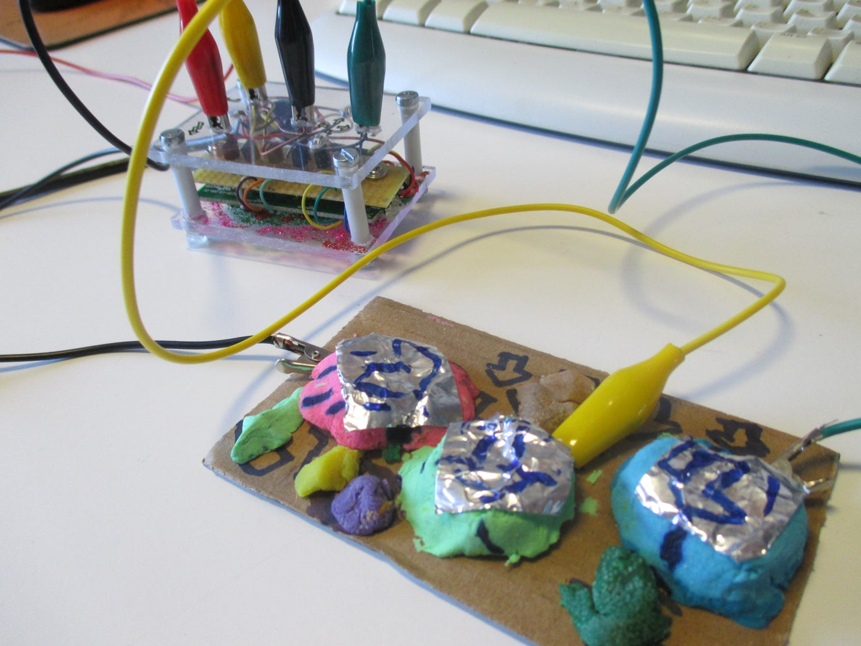 QWERTY: Transforming a Keyboard Into a MakeyMakey