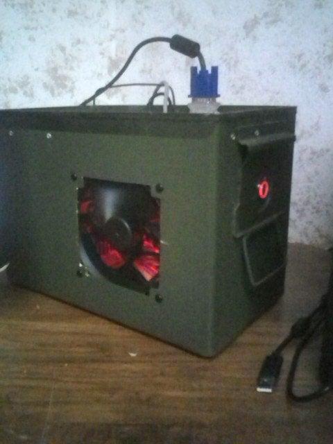 .50 Cal Saw Ammo Box Computer.